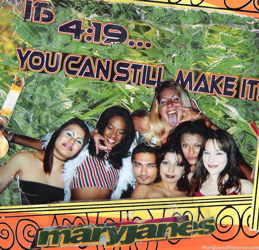 Marijuana Girls Poster