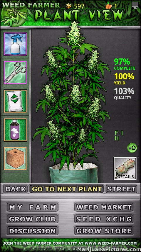 Let's Play Weed Farmer Open Beta