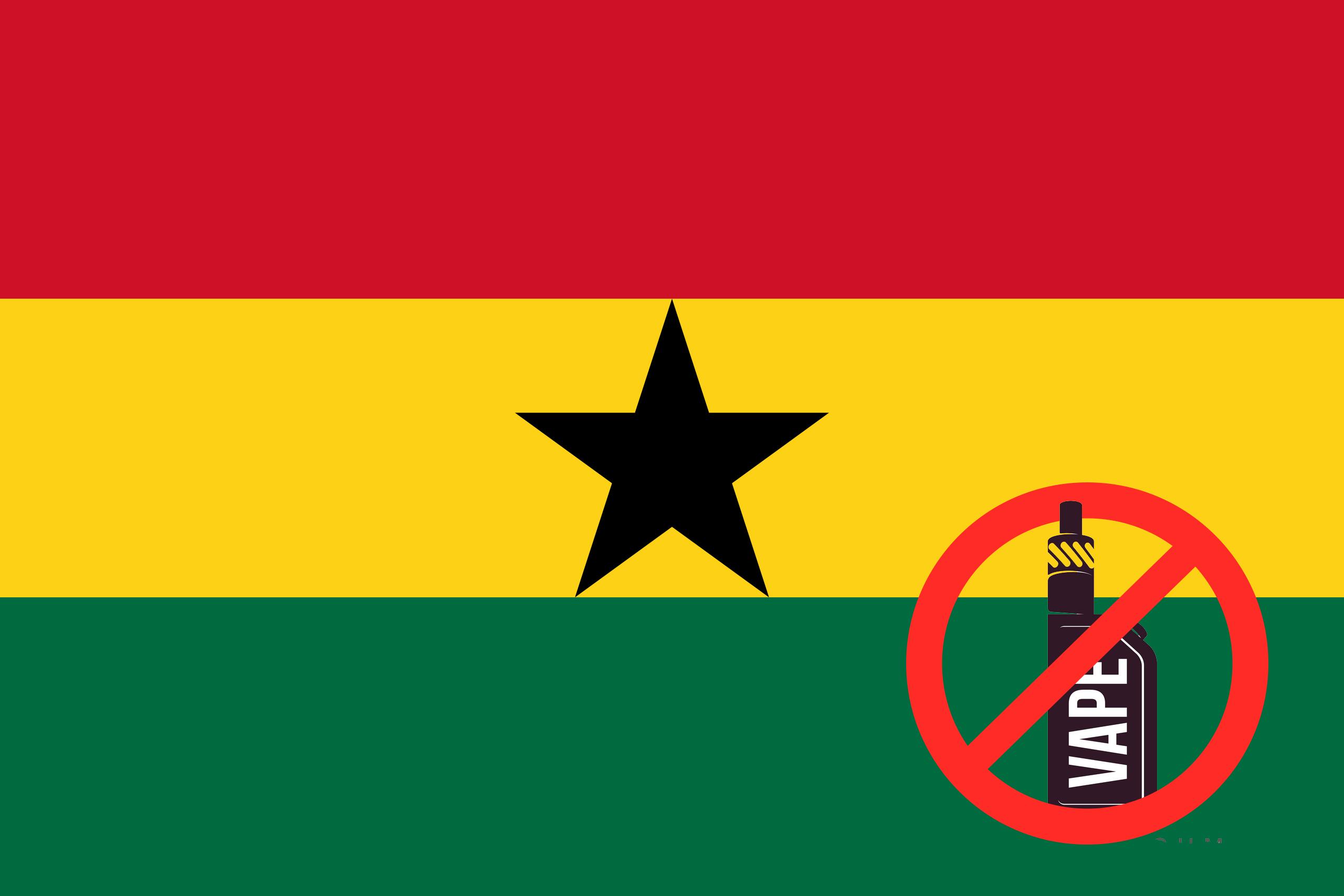 ghana bans vapes